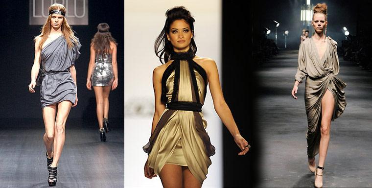 в чем встречать новый год 2011 - платья для встречи нового года 2011