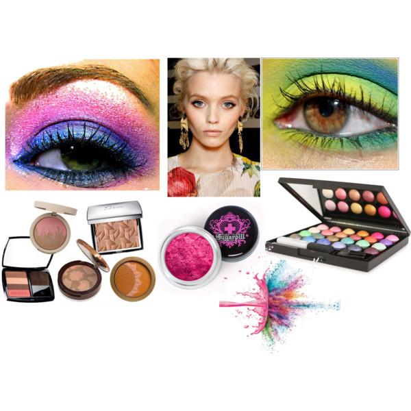 макияж для нового года 2012