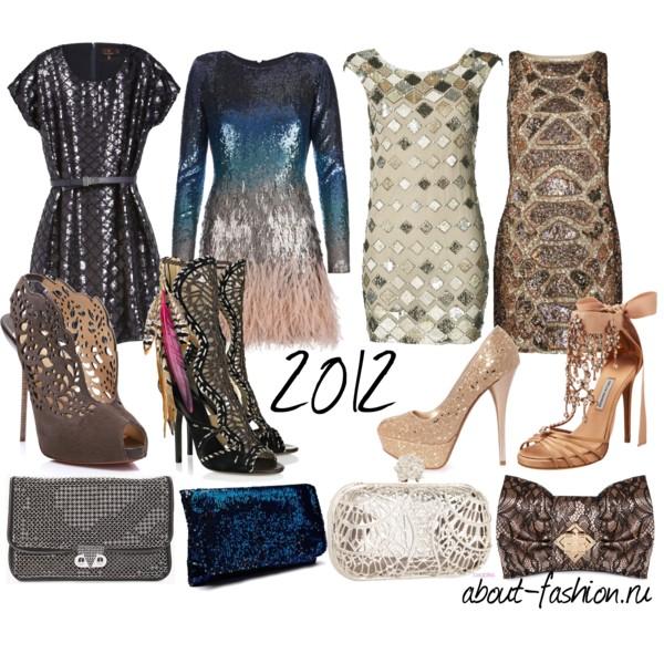 платья для нового года 2012