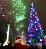 новогодняя елка на майдане