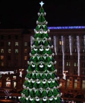новогодняя елка 2013 на Майдане