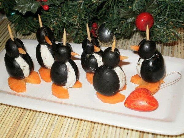 шпажки пингвинчики