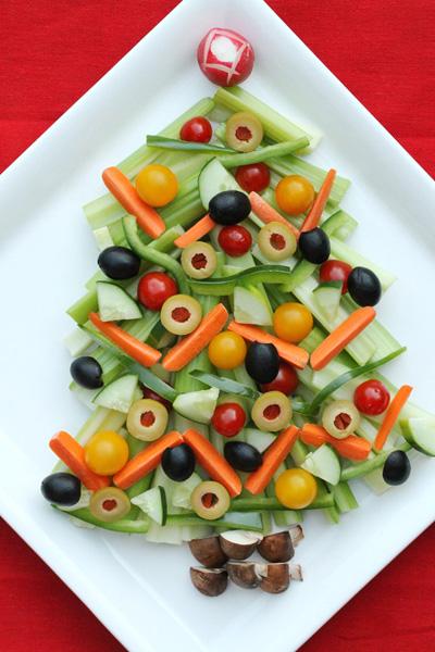 овощи елочка