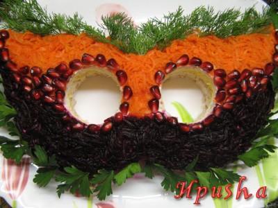 салат маска
